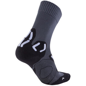UYN Trekking Outdoor Expl**** Chaussettes Homme, anthracite/pearl grey